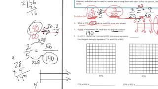 6th grade Module 1 Lesson 26 PS