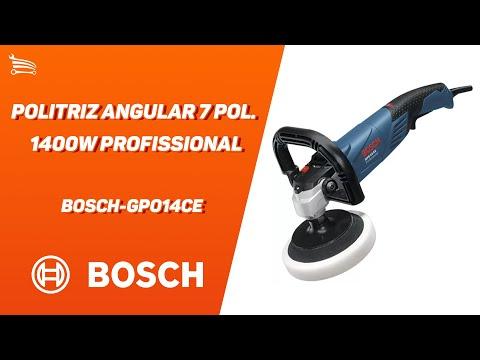 Politriz Angular 7 Pol. 1400W  Profissional - Video