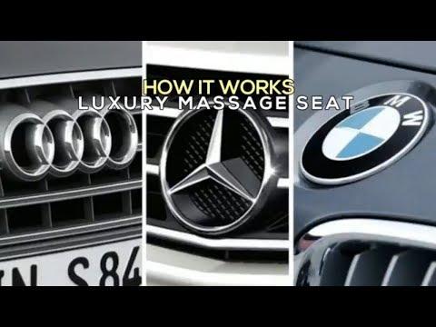 How It Works : Luxury Massage Seat Audi vs Mercedes vs BMW