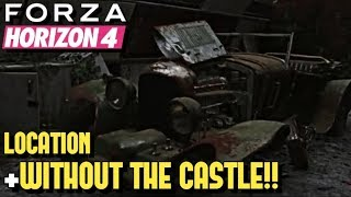 FORZA HORIZON 4 - Bentley 4.5 Litre Blower LOCATION (+Without Buying Castle!!)