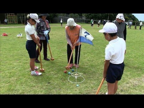 種子島の学校活動:上西小学校高齢者とのふれあい・給食試食会
