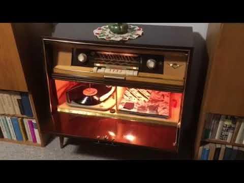Grundig zeneszekrény stereo 1957