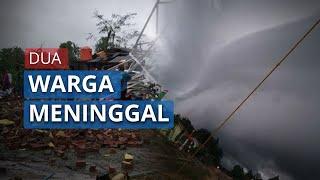 Angin Puting Beliung di Tulangbawang Lampung, 2 Warga Meninggal, 66 Rumah Rusak Berat