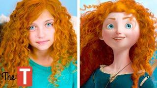 10 Kids Who Look EXACTLY Like Disney Princesses
