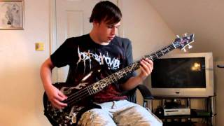 Job For A Cowboy - Relinquished Bass Cover