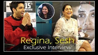 Adivi Sesh & Regina Cassandra Exclusive Interview | Evaru Movie | PVP Cinema | Greatandhra.com