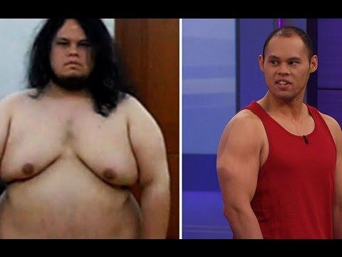 Nghị lực giảm cân của người đàn ông 155kg, thật là khâm phục.