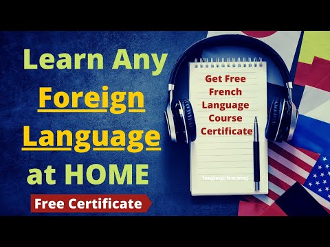 Get Free Foreign Language Certificate | German language | French ...