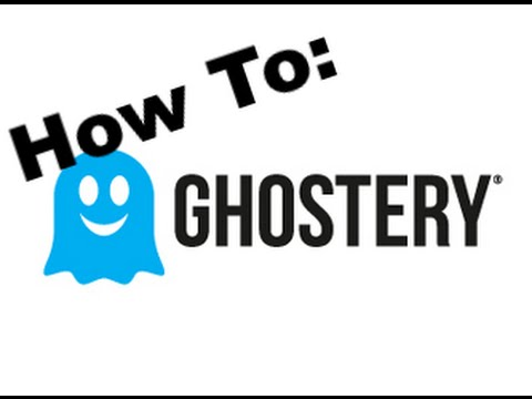 Ghostery tutorial