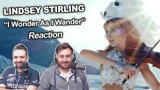 """""""Lindsey Stirling - I Wonder As I Wander"""" Singers Reaction"""