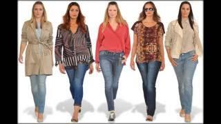 Модные тенденции для полных на лето 2016 года.