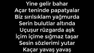 Mavi Gri - Papatyalar Lyrics (Sözleri)