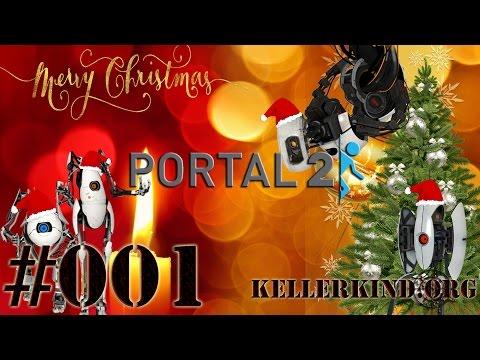Portalnachten #1 – Weihnachtliche Portale ★ Let's Play Portal 2 Custom Maps [HD|60FPS]