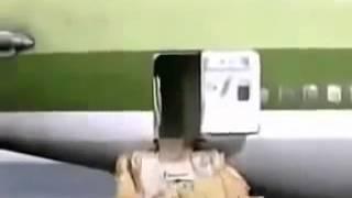 Жесть! Самолет сел на воду   Прикол youtube original