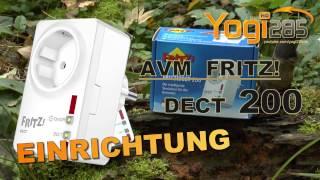 Einrichtung & Konfiguration: AVM FRITZ! DECT 200 / Intelligente Steckdose mit Zeitsteuerung
