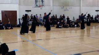 Kendo Women's Match2: US University Student vs Japan University Student