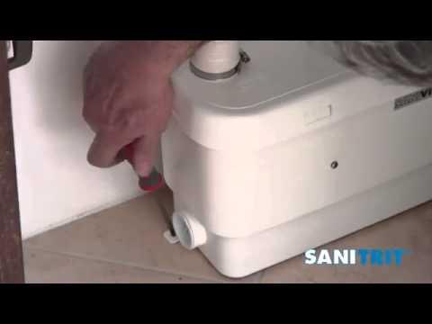 Pompa per acque di scarico | Come si installa