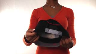 Heat '3M XL-LOGO SNAPBACK' Black-Grey Hat by Mitchell & Ness