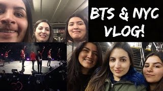BTS THE WINGS TOUR & NYC TRAVEL VLOG | KMREACTS