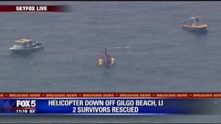 WWE exec rescued from helicopter in Atlantic Ocean