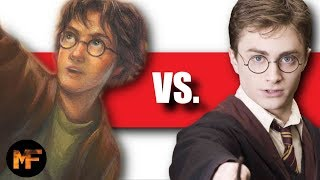 Harry Potter Books Vs. Movies (Top 10 List)