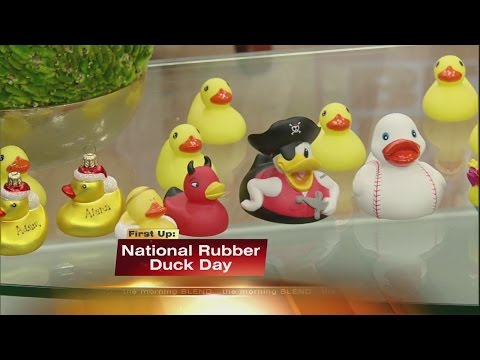 Celebrate National Rubber Duck Day 1/13/15