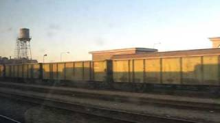 preview picture of video 'From the train to Yazd (Kashan station)'