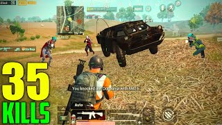 THEY THOUGHT I AM NOOB & THIS HAPPENED!!! | 35 KILLS SOLO VS SQUAD | PUBG MOBILE