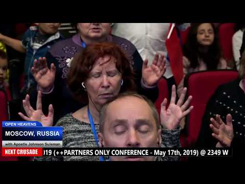 BREAKING NEWS!!! THE GOSPEL IS PREACHED IN RUSSIA.// Apostle Johnson Suleman