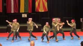 IDO World Championship HipHop 2012 Bochum - Small Groups-Melody (Germany) 2nd place