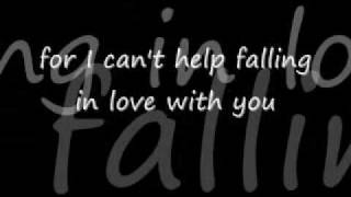 I can't help falling in love with you by A-Teens lyrics