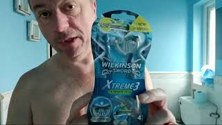 Wilkinson Sword NEW Xtreme 3 Razor Review and shaving tips