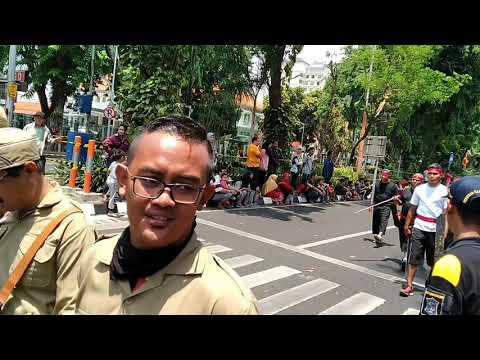 Parade hari pahlwan 10 November Surabaya 2018 part 4