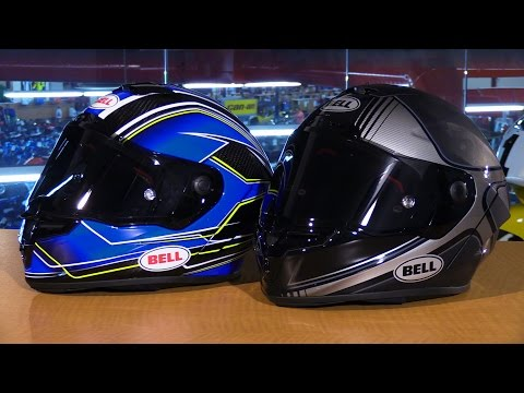 Bell Helmets Pro Star and Race Star Full Face Motorcycle Helmets Review