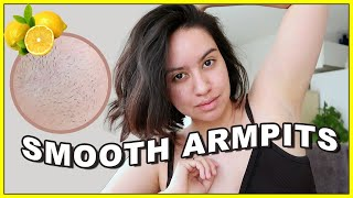My Armpit Routine for Clear Underarms