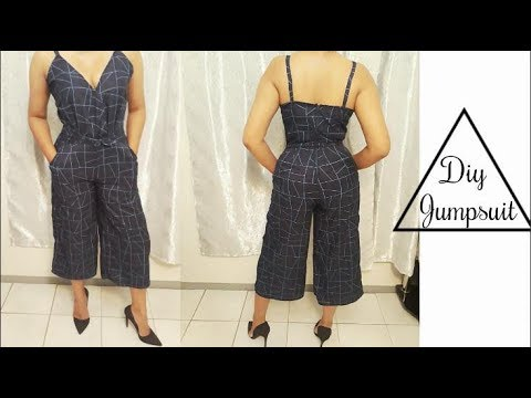 How to make A Jumpsuit #EASY SEWING