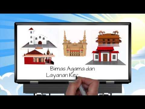 Animasi Badan Litbang dan Diklat Kementerian Agama