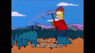 Paul Bunyan (Parte 1/3) Los Simpson
