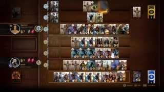 Gwent high score 554 round (Witcher 3: Wild Hunt)