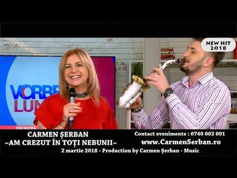 Carmen Serban & Mtm – Am crezut in toti nebunii Video