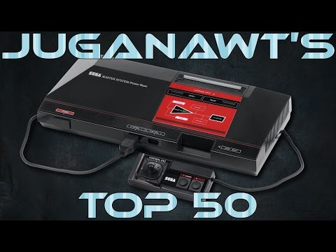 Top 50 Sega Master System / Mark III Games of All Time (in HD 60FPS)