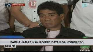 Ronnie Dayan: I got Espinosa money for De Lima