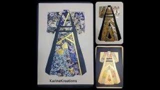 TUTO    Iris Folding   KIMONO