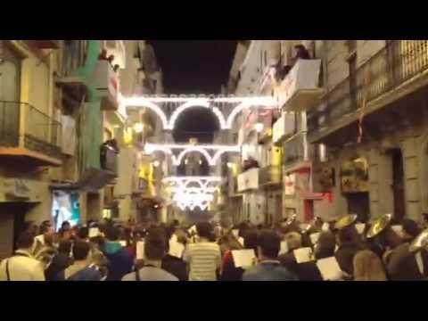Entraeta Esquadra del Mig 2013 de la Fila Ligeros i Agrupació Musical Ontinyent