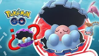 Clamperl  - (Pokémon) - ¡NUEVO EVENTO CLAMPERL en Pokémon GO! ¿¡Saldrá SHINY! Tendremos HUNTAIL y GOREBYSS! [Keibron]