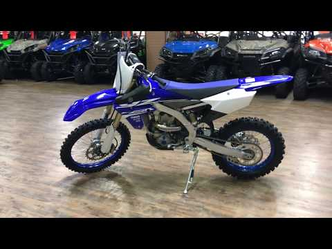2018 Yamaha YZ450FX in Murrieta, California