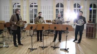 Deutsches Horn Ensemble - Friedrich Constantin Homilius - Quartett in B-dur, Op. 38