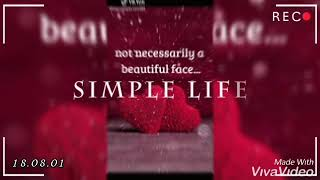 Beautiful life quotes and what's app status tiktok videos
