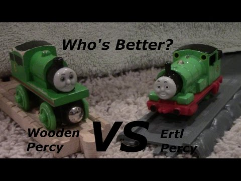 Who's Better: Wooden or Ertl Percy?