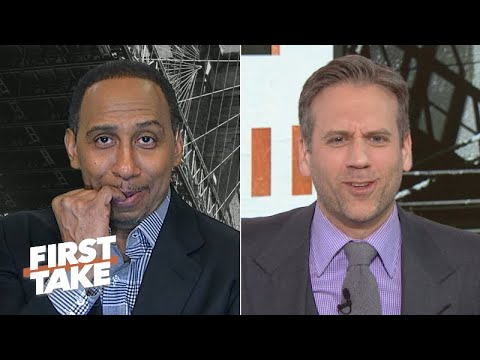 Stephen A. jumps off the Lakers' bandwagon and gets GRILLED for it by Max | First Take